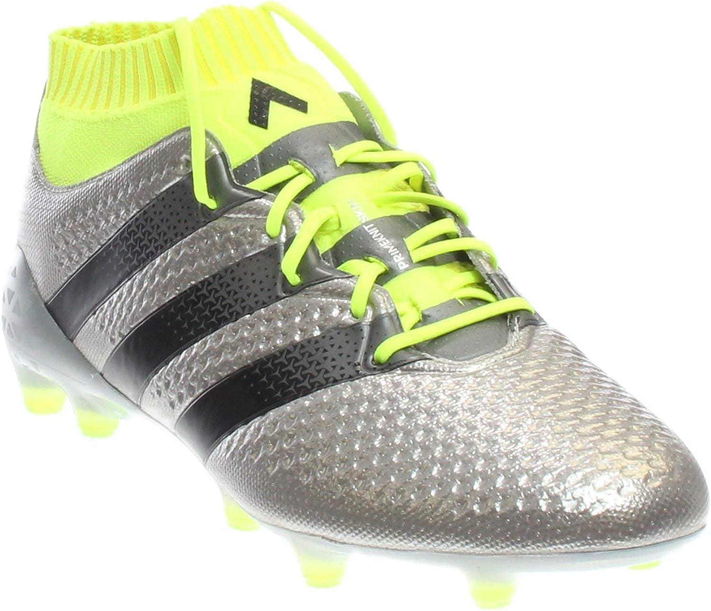 Adidas Mens Ace 16.1 Primeknit FG Non Stop Grip Athletic Cleats