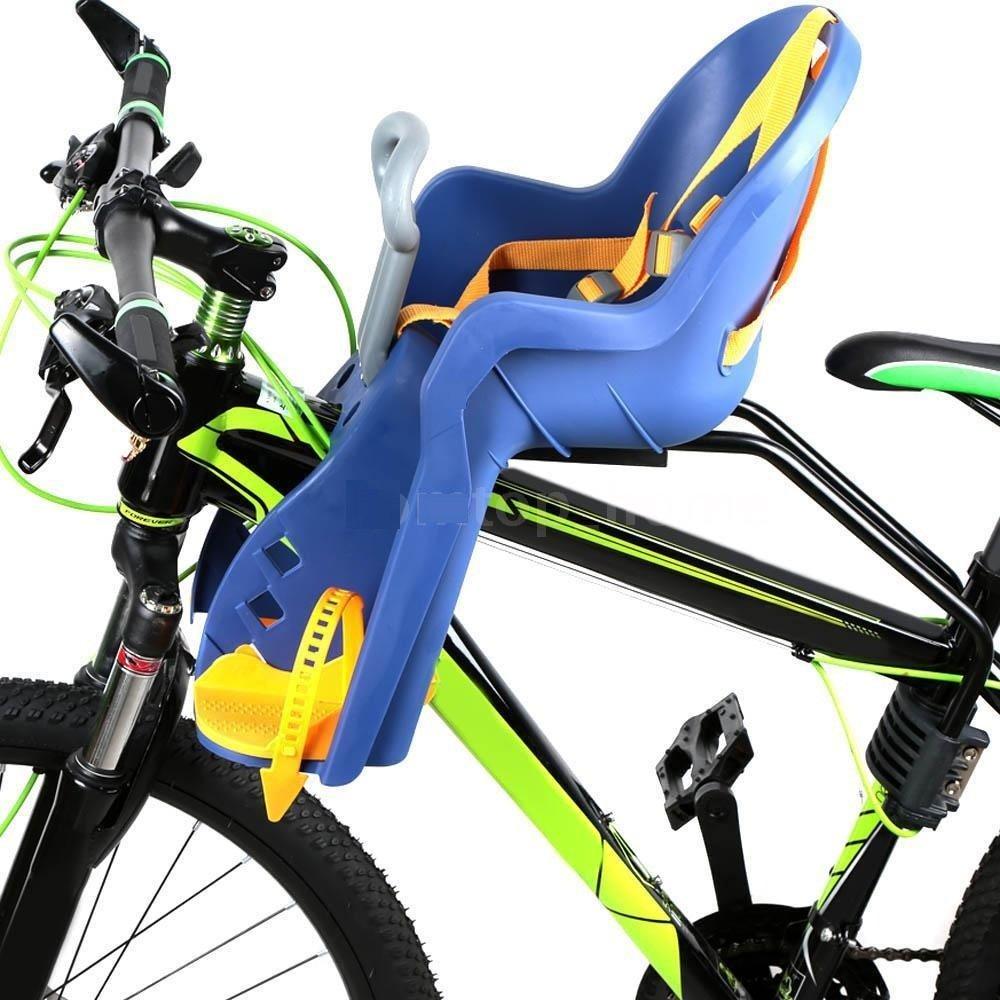 Silla Delantera Bebé Niños para Bicicleta, Asiento Delantero con ...