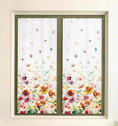 Tende a vetro per porta finestra casa e cucina for Tende a vetro per cucina classica
