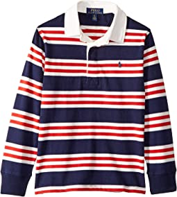 Striped Cotton Jersey Rugby (Big Kids)