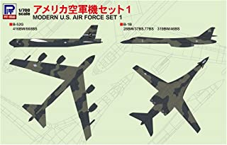 ピットロード 1/700 スカイウェーブシリーズ アメリカ空軍機セット 1 プラモデル S46