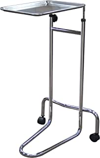 Drive Medical Mayo Instrument Stand, Double Post