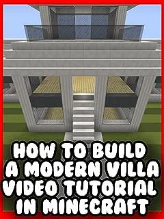 Clip: How to Build a Modern Villa - Video Tutorial in Minecraft