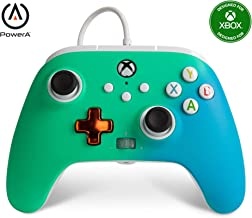 PowerA Enhanced Wired Controller for Xbox - Seafoam Fade, Gamepad, Wired Video Game Controller, Gaming Controller, Xbox Se...