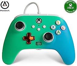 Controller Cablato Avanzato Per Powera Xbox – Verde Chiaro Sfumato, Gamepad, Controller Per Videogiochi Cablato, Controlle...