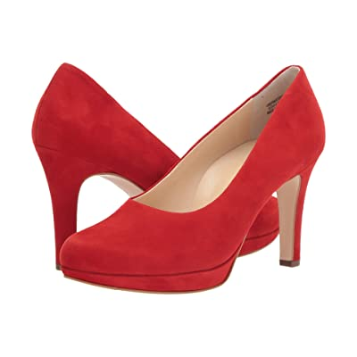 Paul Green Sabrina Pump (Red Suede) Women