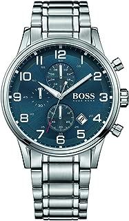 Aeroliner Blue Dial Stainless Steel Chrono Quartz Male Watch 1513183