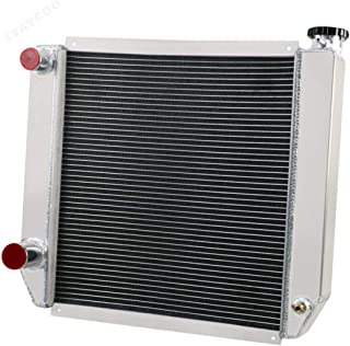 STAYCOO Double Pass 2 Row All Aluminum Radiator for 22