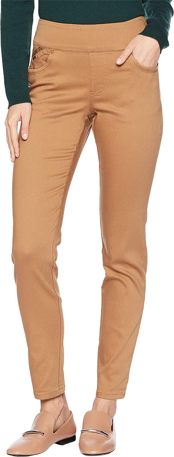 FDJ French Dressing Jeans Womens DLux Denim PullOn Slim Ankle in Caramel