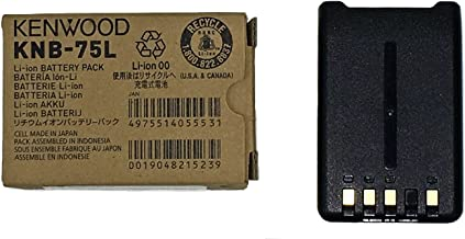 Kenwood KNB-75L Li-ion Battery Pack (1,800 mAh) for use with The TH-D74A