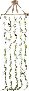 BrylaneHome Pre-Lit Flower Garlands - Multi