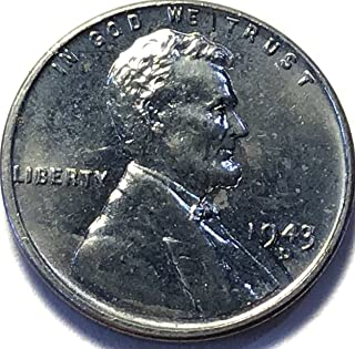 1943 Lincoln wheat D Penny Brilliant Uncirculated