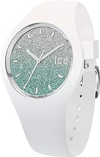 Ice-Watch - Ice Lo White Turquoise - Reloj Blanco para Mujer con Correa de Silicone
