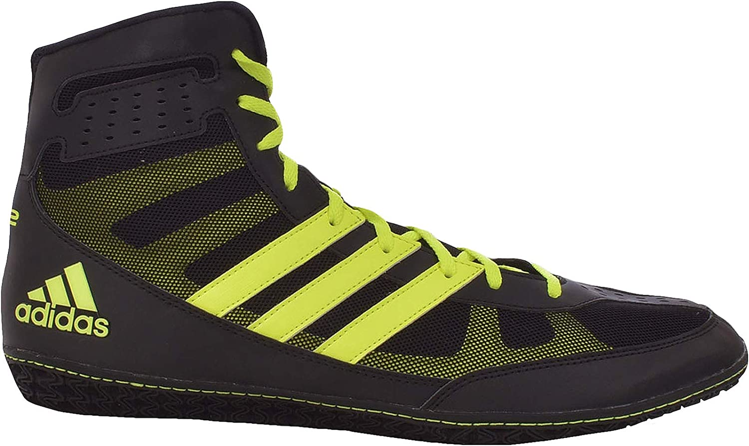 Adidas Performance Mens Mat Wizard.3 Wrestling shoes - Red Navy
