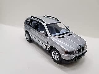 BMW X5 - Kinsmart 1:36 Pullback Diecast Model Silver