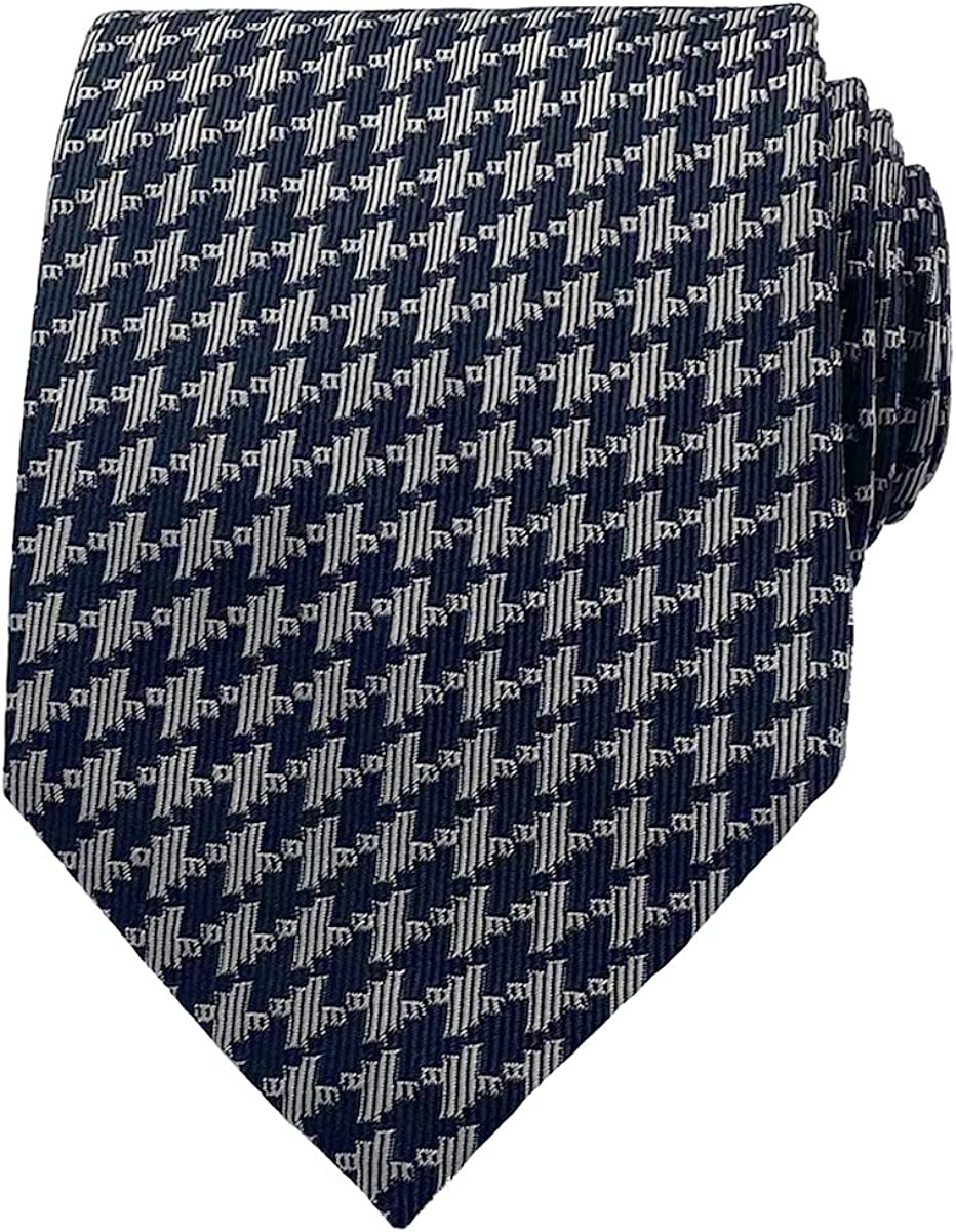 TOM FORD Mens Textured Houndstooth Grey Ranking Limited time for free shipping TOP14 Tie Neck