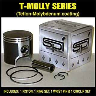 T-Moly Series Piston Kit - 0.50mm Oversize to 76.50mm 2008 Ski-Doo GTX 500SS Sport Snowmobile