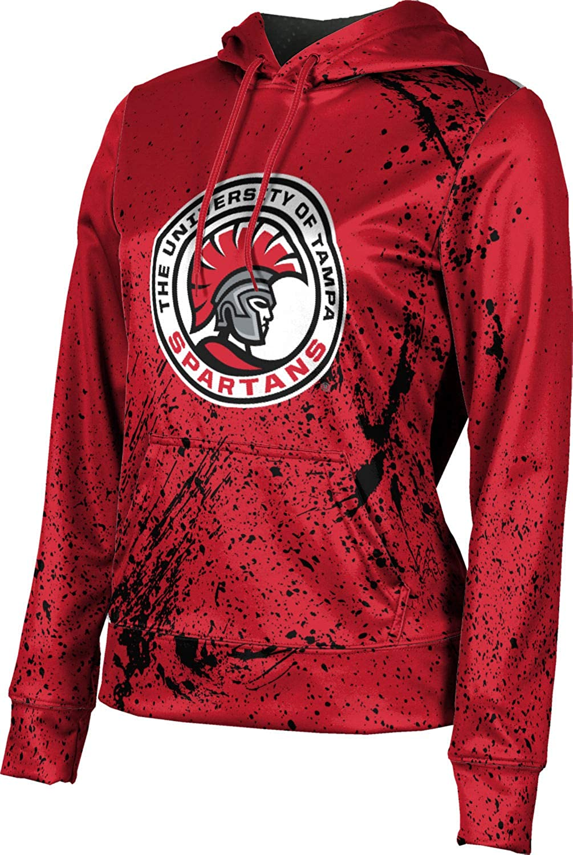 ProSphere University of Tampa Girls' Pullover Hoodie, School Spirit Sweatshirt (Splatter)