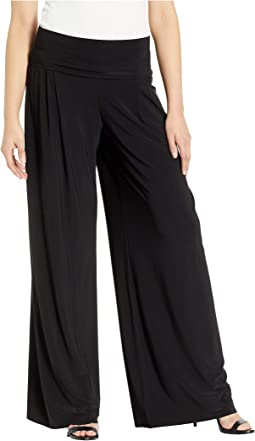 High-Waist Pleat Pants
