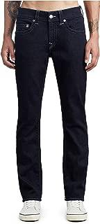 True Religion Men's Geno Slim Fit Stretch No Flap Denim Jeans