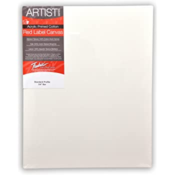 Fredrix 5036 Red Label Stretched Canvas, 30 By 40 Inches