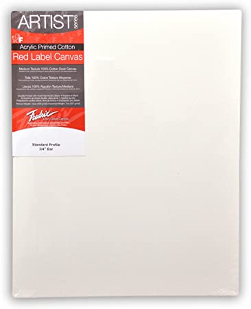 Fredrix 5613 Ultra Smooth Stretched Canvas 30 by 40-Inch