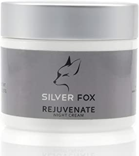 SilverFox Rejuvenate Anti-Aging Facial Moisturizer Night Cream for Men