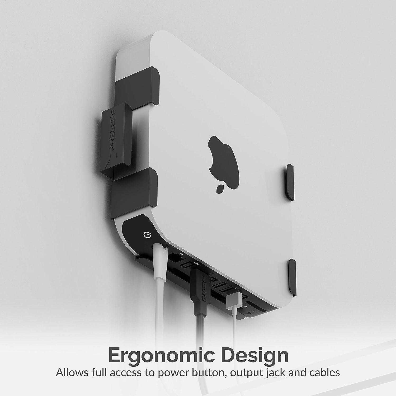 Sabrent Mac Mini VESA Mount/Wall Mount/Under Desk Mount [Black] (BK-MABM)