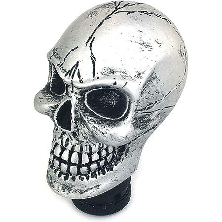 Chrome Skull Head 13//18 Gearshift Knob plus Mounting Adaptor