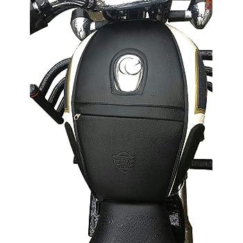 nero SaharaSeats /™ Royal Enfield Classic 350//500 e Bullet Electra//Standard Model Coperchio serbatoio