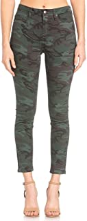 High-Rise Camo Skinny Jeans H2234SN
