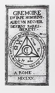 Grimoire du pape Honorius : Avec un recueil des plus rares secrets (French Edition)