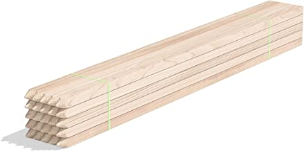 Greenes Fence 3 Ft. Wooden Garden and Sign Post Stakes (25-Pack)