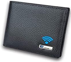 Sponsored Ad - Smart LB Smart Anti-Lost Wallet with Alarm, Bluetooth, Position Record (via Phone GPS), Bifold Cowhide Leat... photo