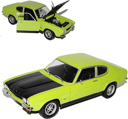 Minichamps Ford Capri I RS 2600 Grün Schwarz1. Generation 1968-1973 1 18 Modell Auto
