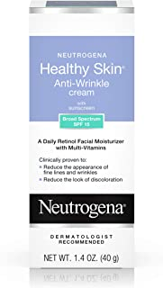 NEUTROGENA Healthy Skin Anti-Wrinkle Cream SPF15, Original Formula 1.4 oz (Pack of 3)