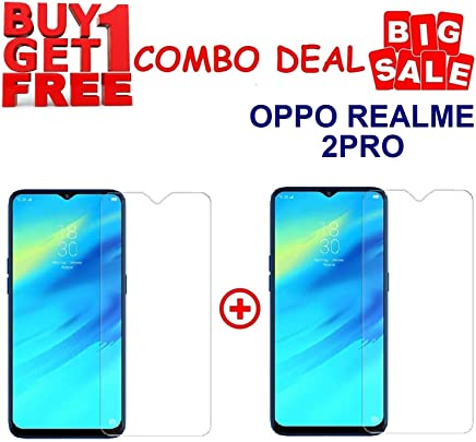 Kite Digital Oppo REALME 2 PRO Premium Tempered Glass Screen Protector Slim 9H Hardness 2.5D