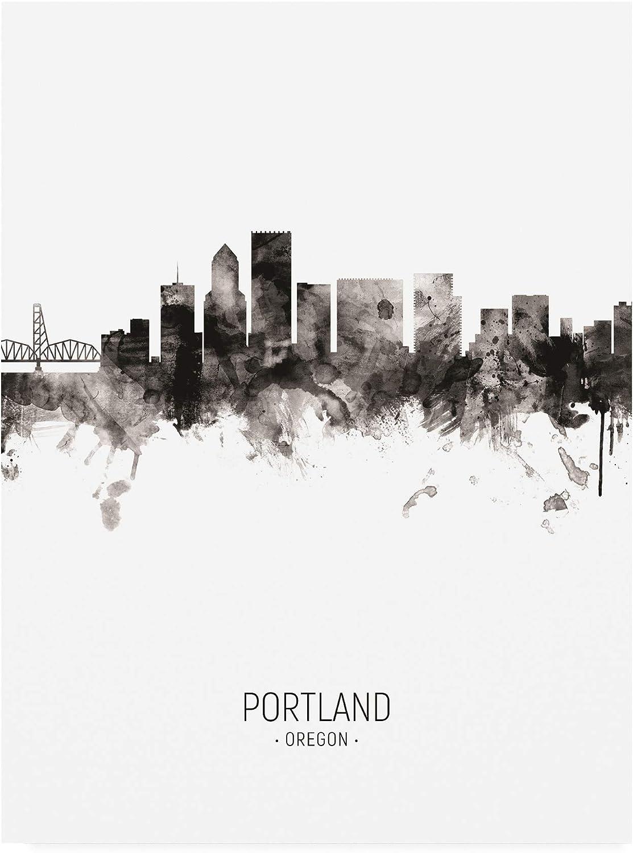 Trademark Fine Art Portland Oregon by Portrait II Albuquerque Mall Michae NEW before selling ☆ Skyline