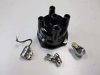 Distributor Cap, Rotor, Points, Condenser Ignition Kit for Mercruiser 3.0 2.5 3.7