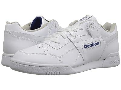 Reebok Lifestyle Workout Plus (White/Royal) Men