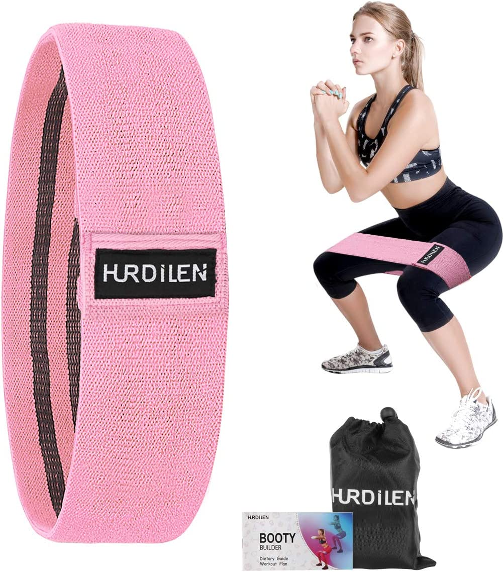 Aoralivre Fabric Resistance Bands for Legs//Butt//Glute//Squats Stretch Workout Exe