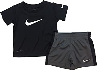Nike Kids Baby Boy's Short Sleeve Top and Shorts Set (Toddler)