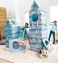 HearthSong Igloo Fantasy Fort, Sturdy Cardboard Construction, 22