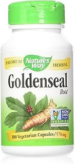 Nature's Way Goldenseal Root, 100 Vegetarian Capsules