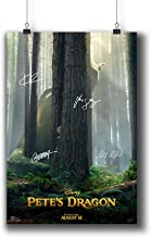 Pete's Dragon (2016) Movie Photo Poster Prints 925-002 Reprint Signed Casts,Wall Art Decor Gift (A4|8x12inch|21x29cm)