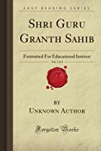 guru granth sahib in english book