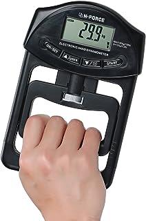 【 記録更新がひと目でわかる 】 N -FORCE(エヌフォース) 正規品 デジタル握力計 握力測定 保証書付