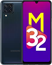 Samsung Galaxy M32 (Black, 6GB RAM, 128GB Storage) 6 Months Free Screen Replacement for Prime