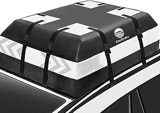 Etechydra Bolsa de techo de coche para viajes 700D PVC Soft Car Roof Box Cofre de techo de coche impermeable, en el techo ...