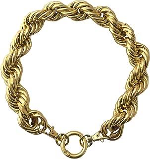 Gold Rope Chain Dog Collar